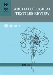 Archaeological Textiles Review No. 55, 2013